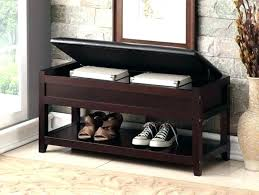 entryway bench with shoe storage leather entryway bench entryway seat leather shoe storage bench ottoman entryway seat hall organizer wood furniture small