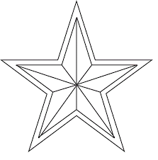 printable star free printable star coloring pages for kids 30071