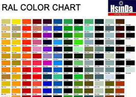 Ral Powder Coat Color Chart Sand Texture Epoxy Polyester Powder Coating Grey Color High