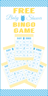 Baby Shower Gift Bingo Game Cards Archives  Baby Shower DIYBaby Shower Bingo Cards Printable