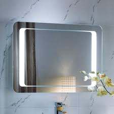 lighting mirrors bathroom. Fascinating Lighted Bathroom Mirrors Led Illuminated Mirror With Aluminum Frame Lighting A