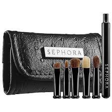 sephora collection look smart travel eye brush set