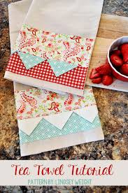 diy gifts to sew for friends tea towel quick and easy sewing projects and