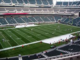 Lincoln Financial Field View From Club Level 37 Vivid Seats