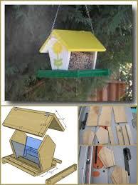 wooden bird feeder plan hand built wooden bird feeder