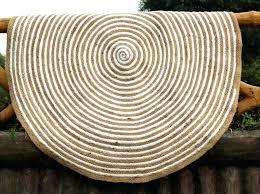 jute area rug spiral white cotton geometric floor decor rugs ikea 10x14