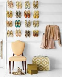 bedroom with storage. Creative Bedroom Storage Hack: Mount A Shoe Rack Into The Wall With O