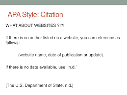 How To Do Apa In Text Citations With No Author Or Date Documentation