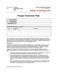 transition plan examples project transition plan template professional snapshoot 40
