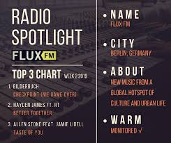 Radio Station Spotlight Fluxfm Berlin Germany Warm