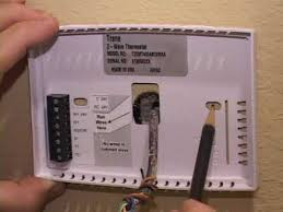 instructions wiring a trane thermostat instructions remote energy management thermostat new installation on instructions wiring a trane thermostat