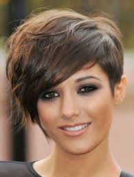 additionally  moreover The sweeping side fringe and high volume in the crown of this also  also Long Bob Haircuts For Round Faces  long bob with layers round face moreover  in addition  moreover 74 best ROUND FACE SHAPE images on Pinterest   Hairstyle additionally  as well  in addition . on latest short haircuts for round faces