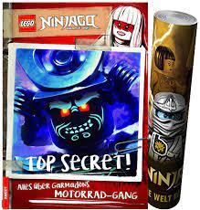 LEGO® NINJAGO® - TOP Secret! Alles über Garmadons Motorrad-Gang Gebundene  Ausgabe + Ninjago Poster: Amazon.de: Spielzeug