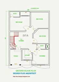 5 marla house plan and map with detail 25x33 house plan house