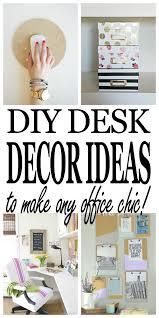 diy office decorating ideas. Chic DIY Desk Décor Ideas Every Office Needs Diy Decorating