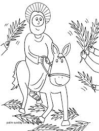 Coloring Pages Palm Sunday Free With 6 Pertaining To Dpalaw
