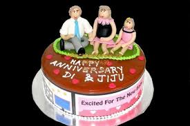 Send Cake For Anniversary Of Sister And Brother In Law To Noida