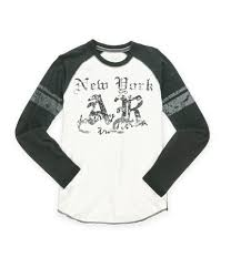 American Rag Mens Weathered Logo Graphic T Shirt