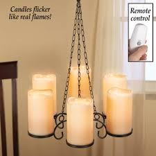 led candle holder chandelier