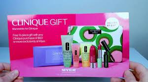 marimekko for clinique myer australia gift with purchase 2018 skincare makeup bonus