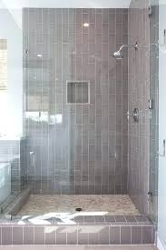 bathroom white subway tile with dark floor. White Tile Bathroom Shower Full Size Of Subway Dark Floor And With