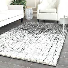 red grey area rugs rug gray and white intended for black