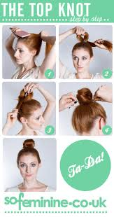 Topknot Hair Style best 25 top knot hairstyle ideas knot hairstyles 1724 by wearticles.com