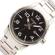 citizen bi1028 55e quartz stainless steel mens watch black dial citizen bi1028 55e quartz stainless steel mens watch black dial
