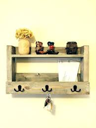 key hanger ideas creative holders for your home storage day holder rack with mail wooden envelope place