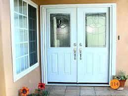 white double front door. Front Doors White Double With Design Ideas Gallery Glass Door