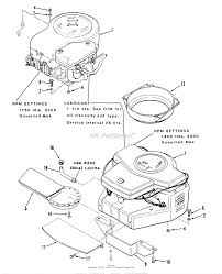 Toro b2 11bx91 b 1136 tractor 1984 parts diagram for engine rh jackssmallengines werks b2