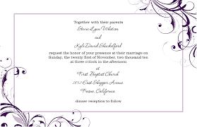 Microsoft Word Invitation Templates Free Download Wedding Invitation Template Microsoft Word Paper