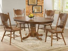 oak round dining table set for 4 round table furniture manila