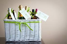 unique wedding gift basket ideas bridal shower gift wine basket poem tutorial free the celebration