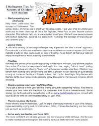 preparing children who have an autism spectrum disorder for much of halloween is a social gathering this is a great time if your child has special needs to work on social skills and be around peers points out