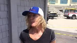 Wendy Hunt of Wrightsville Beach describes how she and a friend, Tina  Baldwin, rushed into the burning Kings Beach gift shop and helped get three  people out of the building. - Video -