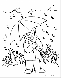 Small Picture April Showers Bring May Flowers Coloring Page anfukco