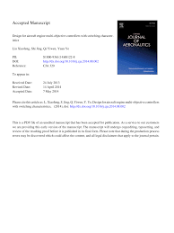 Aircraft Engine Design Mattingly Pdf Pdf Design For Aircraft Engine Multi Objective Controllers