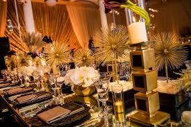 glamorous art deco wedding ideas and themes
