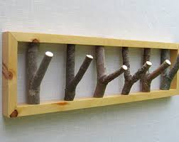 Wall Tree Coat Rack Items similar to Tree Branch Coat Rack Wall Hanging Coat Rack 18