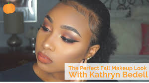 when you think about the color orange you probably don t think about your eyeshadow but kathryn bedell proved that orange is super glamorous in her latest