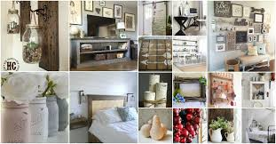 55 gorgeous diy farmhouse furniture and decor ideas for a rustic diy rustic home decor ideas