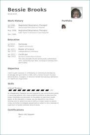 Respiratory Therapist Resume Sample Mesmerizing Respiratory Therapist Resume Sample Luxury Aba Therapist Resume