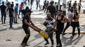 نتيجة بحث الصور عن ساحة التحرير بغداد مظاهرات