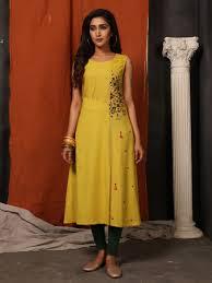 Sleeveless Long Kurti Designs Payal Designer Aline Ethnic Wear Sleeveless Casual Different