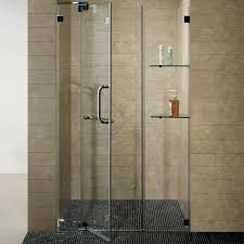 the best way to clean shower doors glass are most