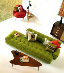 mid century modern dollhouse furniture. MCM Furniture - Just Change The Colour Of Couch To Turquoise Or Teal Mid Century Modern Dollhouse E