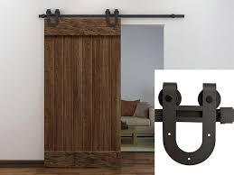 image of sliding door track hardware