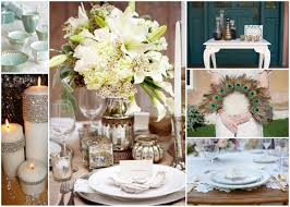 Art Deco wedding decor; stylemepretty.com; greenweddingshoes.com;  decoratemywedding.com