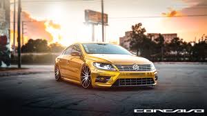 Volkswagen CC R-Line on Concavo Wheels